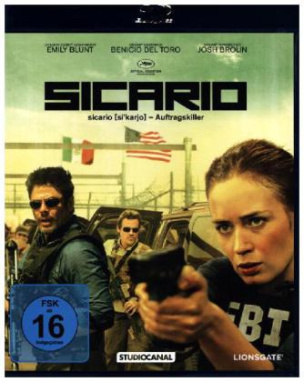 Sicario, Blu-ray
