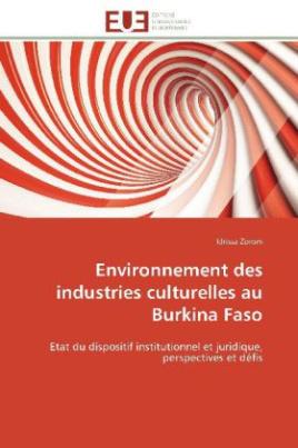Environnement des industries culturelles au Burkina Faso