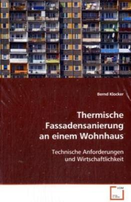 Thermische Fassadensanierung an einem Wohnhaus