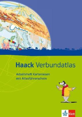 Arbeitsheft Kartenlesen mit Atlasführerschein