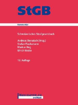 Schweizerisches Strafgesetzbuch (StGB), Kommentar
