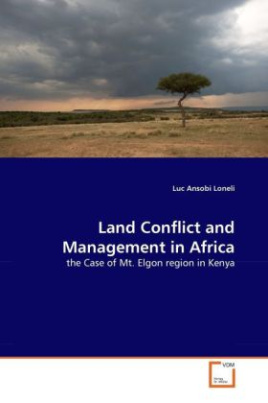 Land Conflict and Management in Africa