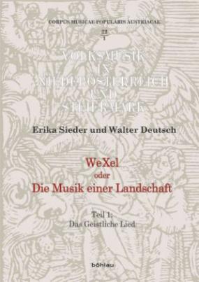 WeXel oder Die Musik einer Landschaft, m. 3 Audio-CDs. Tl.1