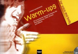 Warm-ups for voice and body, m. Audio-CD