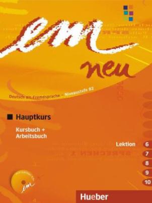 Kursbuch + Arbeitsbuch (Lektion 6-10), m. Audio-CD