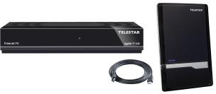 DVB-T2 Komplett Set schwarz