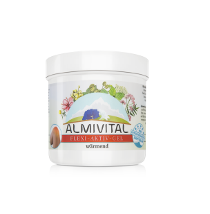 Almivital Flexi-aktiv Gel wärmend 250 ml