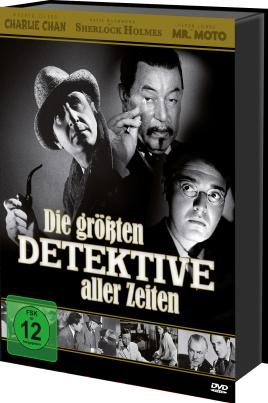 Die größten Detektive aller Zeiten - Box