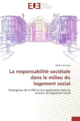 La responsabilité sociétale dans le milieu du logement social