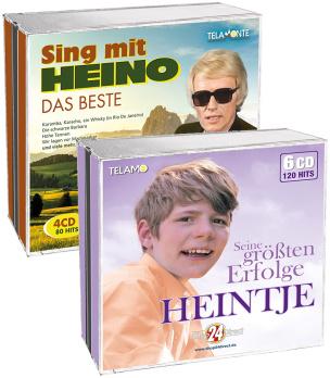 Heintje - Seine größten Erfolge + Das Beste - Sing mit Heino