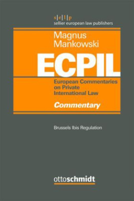 European Commentaries on Private International Law (ECPIL)