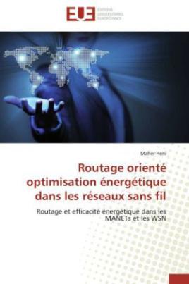 Routage orienté optimisation énergétique dans les réseaux sans fil