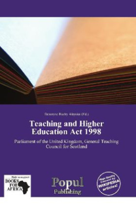 Teaching and Higher Education Act 1998