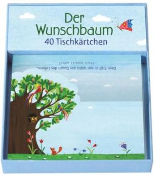 Der Wunschbaum, 40 Tischkärtchen