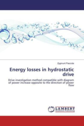 Energy losses in hydrostatic drive