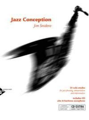 Jazz Conception, Alto & Baritone Saxophone, w. Audio-CD