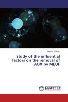 Study of the influential factors on the removal of AOX by MEUF