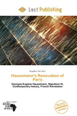 Haussmann's Renovation of Paris