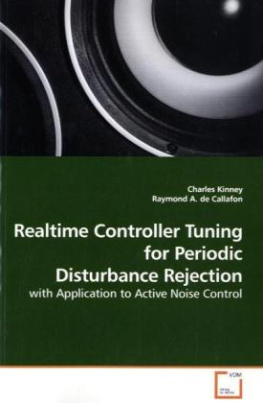 Realtime Controller Tuning for Periodic Disturbance Rejection