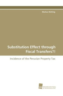 Substitution Effect through Fiscal Transfers?!