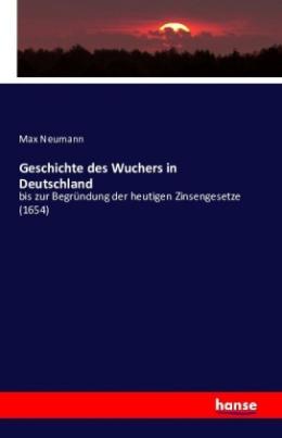 Geschichte des Wuchers in Deutschland