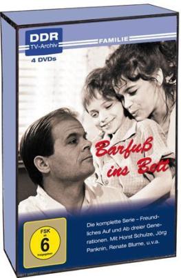 Barfuß ins Bett (DDR TV-Archiv) (4DVD)