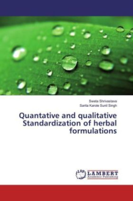 Quantative and qualitative Standardization of herbal formulations