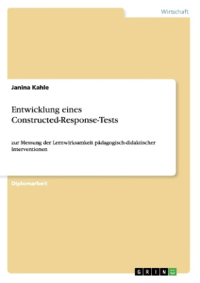 Entwicklung eines Constructed-Response-Tests