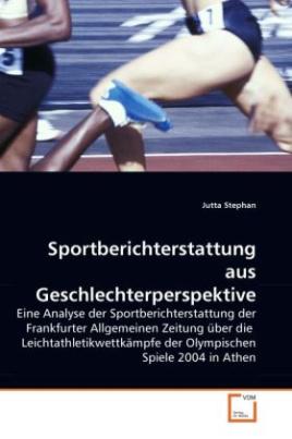Sportberichterstattung aus Geschlechterperspektive