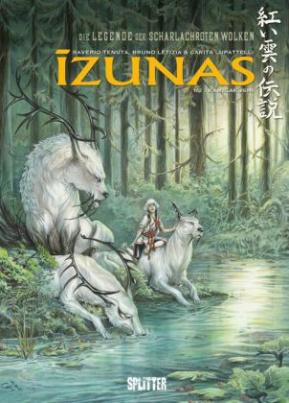 Legende der scharlachroten Wolken, Die Izunas - Kamigakushi