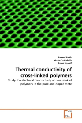 Thermal conductivity of cross-linked polymers