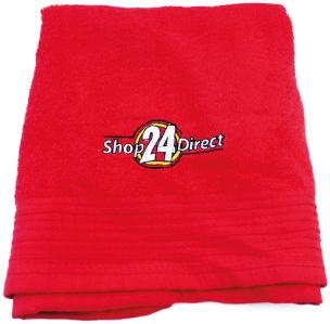 Shop24direct Handtuch (rot)