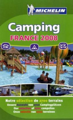 Michelin Camping France, Selection 2008