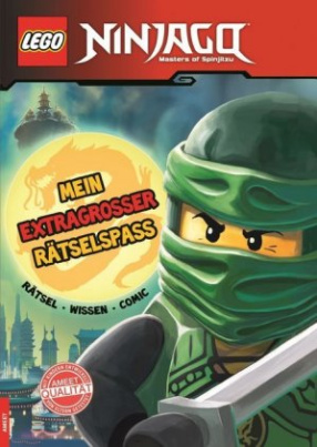 LEGO Ninjago - Mein extragroßer Rätselspaß