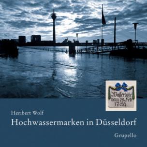 Hochwassermarken in Düsseldorf