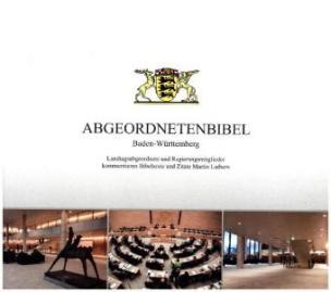 Abgeordnetenbibel Baden-Württemberg