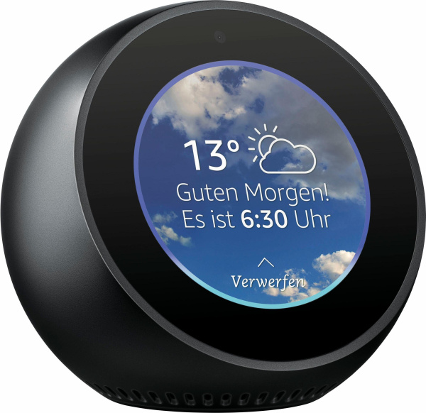 "AMAZON Smart Speaker ""Echo Spot 1.0"" (Wifi, Bluetooth, Sprachsteuerung, Multiroom)"