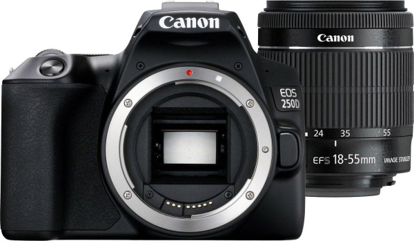 "CANON Spiegelreflexkamera ""EOS 250D"" (24,1 MP, 18-55mm, Wifi, Bluetooth)"