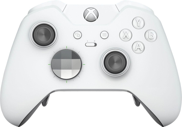 "MICROSOFT Controller ""Xbox One Elite"" (Wireless, weiß)"