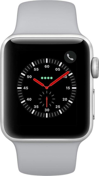 "APPLE Smart Watch ""Watch Series 3"" (GPS, 38 mm Aluminiumgehäuse, Goldfarben/Sandrosa)"