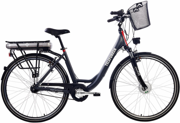 "TELEFUNKEN E-Bike ""RC657"" (City, 28 Zoll, Frontmotor, Damen)"