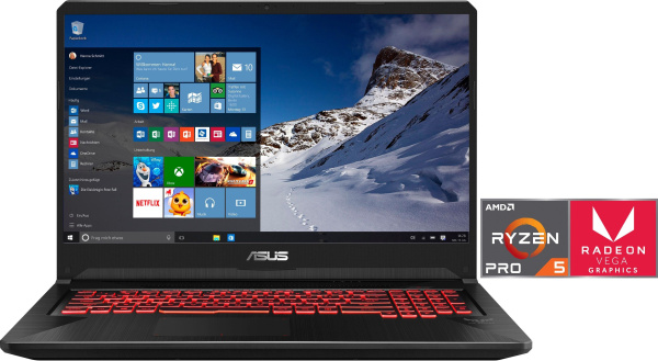 "ASUS Gaming-Notebook ""FX705DY-AU028T"" (17,3 Zoll, Ryzen 5-3550H, AMD RX 560X)"
