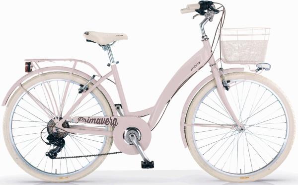 """MBM Fahrrad """"New Primavera"""" (28 Zoll, 6 Gänge, Retro, Damen)"""