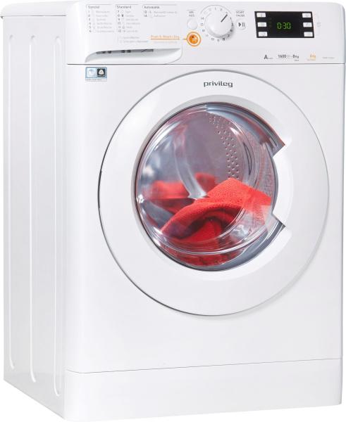 "PRIVILEG Waschtrockner ""Family Edition"" (8 kg/6 kg, 1600 U/Min)"