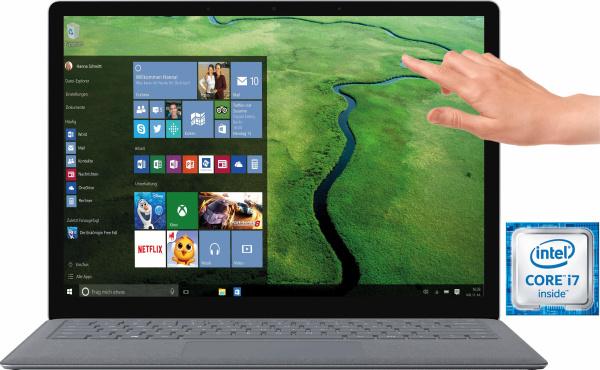 "MICROSOFT Tastatur ""Surface Pro Type Cover"" (Magnetanschluss, LED-Hintergrundbeleuchtung)"