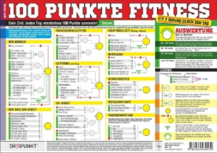 100 Punkte Fitness, Info-Tafel
