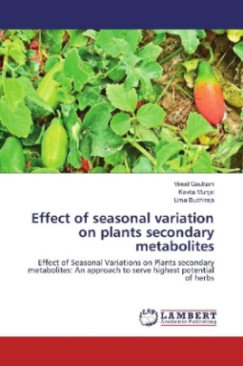 Effect of seasonal variation on plants secondary metabolites