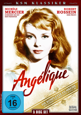 Angelique - Die Komplette Filmreihe