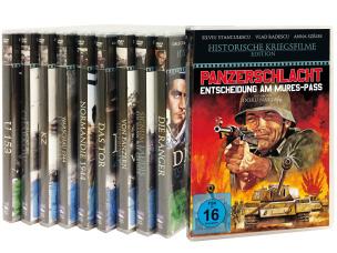Historische Kriegsfilme 10er-Set