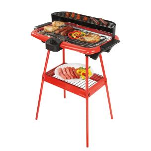 Barbecue-Elektro-Grill rot